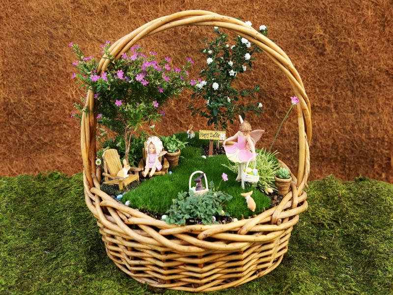 Fairy Garden Ideas: It's Almost Easter