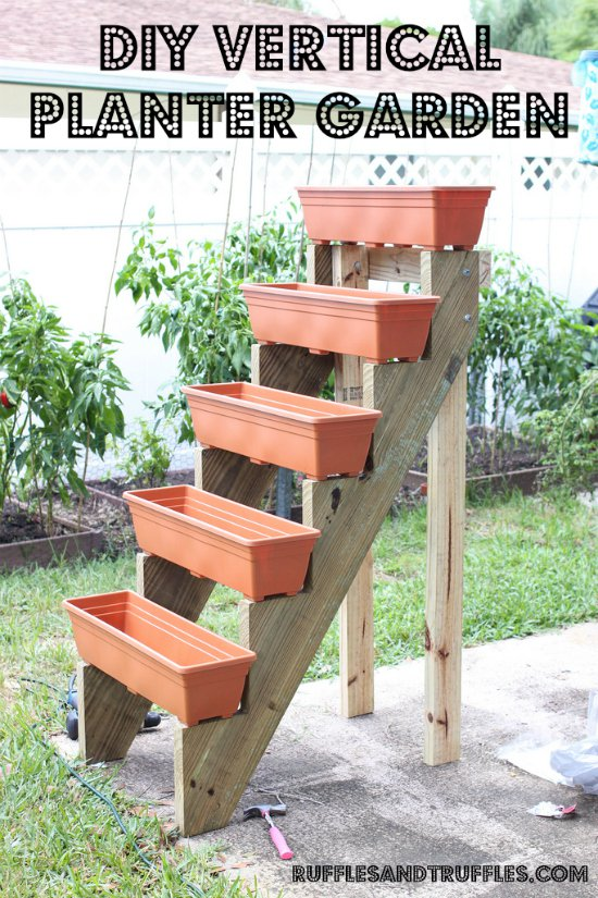 Stepped Strawberry Ladder