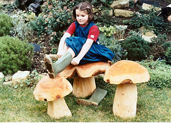 Toadstools by Forest Crafts
