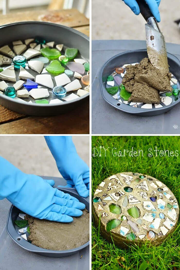 Easy DIY Garden Stones Project