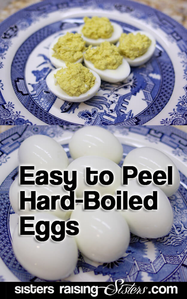 Make Easy To Peel Hard-Boiled Eggs
