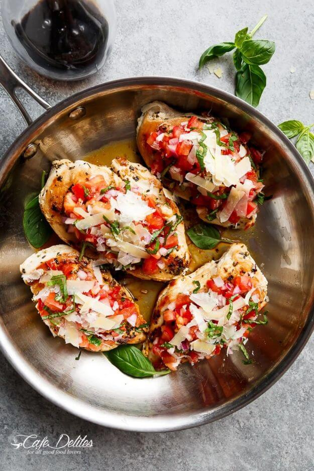 Italian Herb Bruschetta Chicken