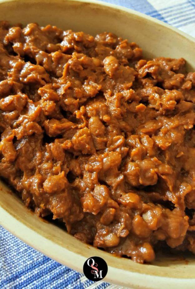 Low Fat BBQ Baked Beans