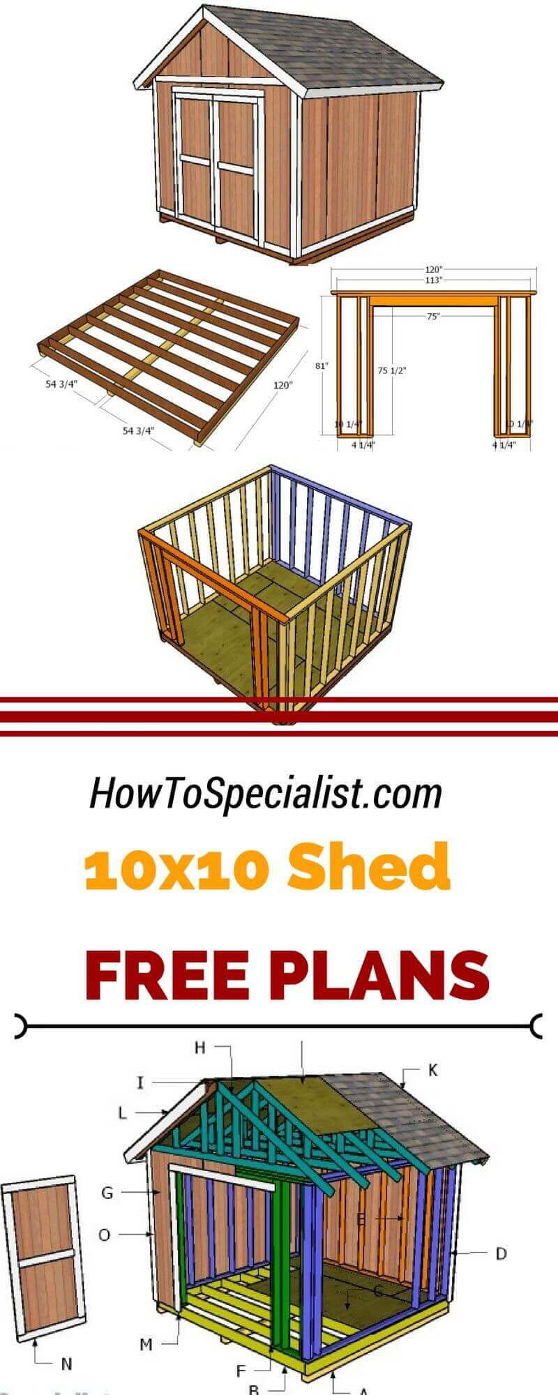 Unique 10×10 Small Storage Shed Projects
