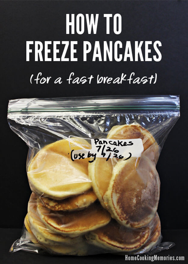 Make And Freeze Pancakes