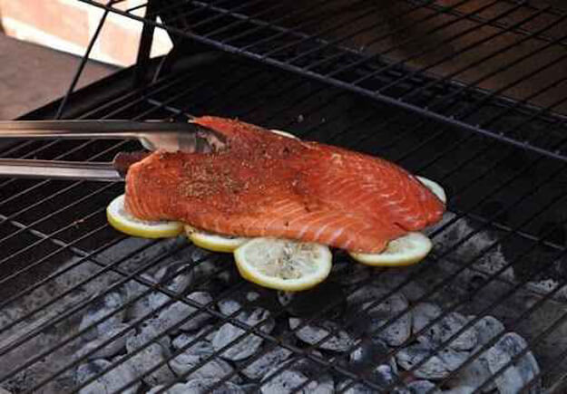 Grill Fish On Lemons To Prevent Sticking