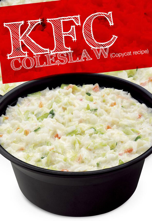 KFC's Secret Cole Slaw Recipe