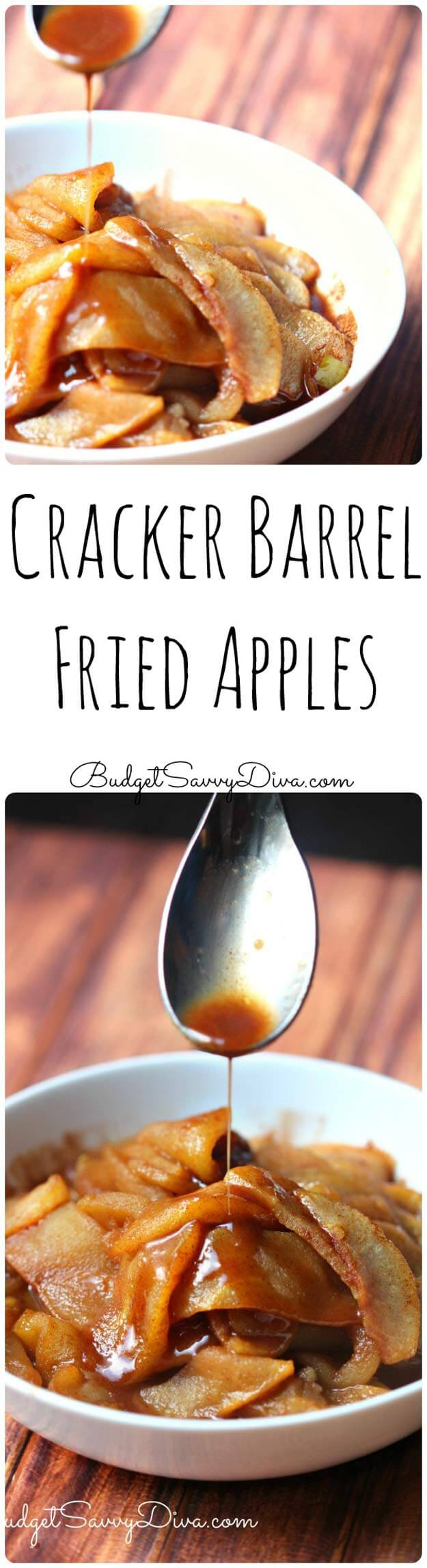 Cracker Barrel Fried Apples Recipe