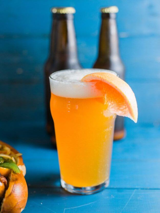 Grapefruit Honey Ale