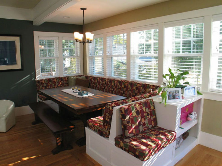 Home Comfort Breakfast Nook Idea