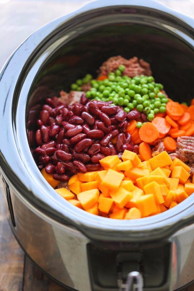 Easy Crockpot Dog Food