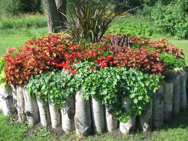 DIY Lawn Edging Ideas For Beautiful Landscaping: Garden Edging Ideas for flower beds