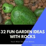 32 Fun DIY Garden Ideas with Rocks