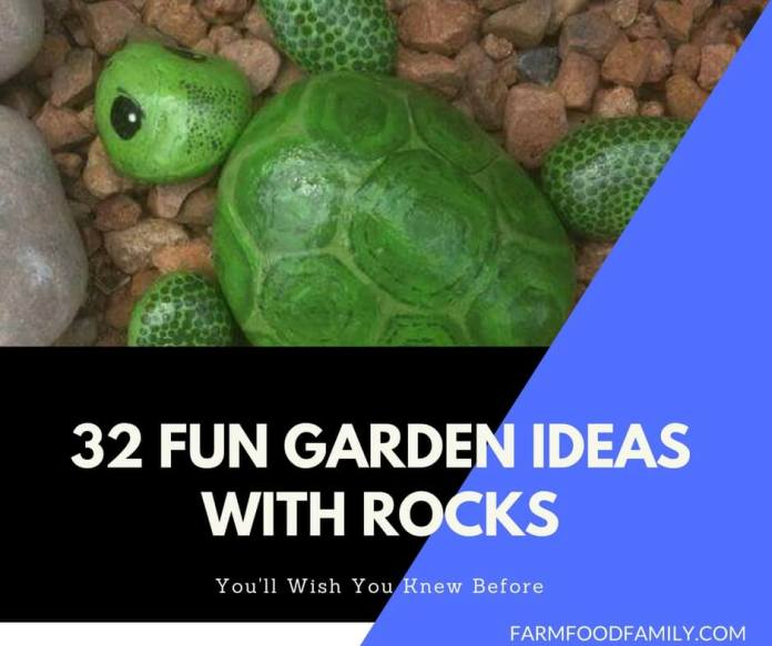 Garden Ideas & Projects With Rocks