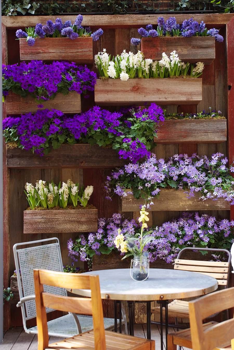 Frame a Patio Space with a Beautiful Hanging Garden