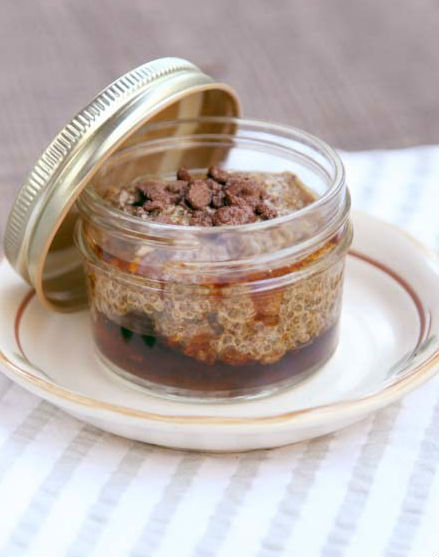 Mocha Chia Pudding recipe