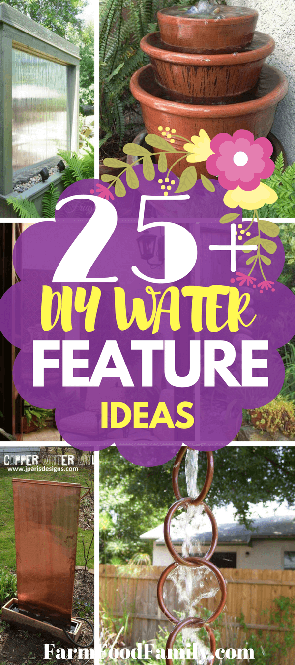 You may have some of the resources you need tucked away in your basement or garage to create your own zen space. That's the best part about these diy water feature ideas; if you have empty pots, basins, extra river rock, lying around from past projects you can easily put them to use and turn them into a soothing oasis that not only sounds pleasant but is also a nice accent to your outdoor patio or indoor space