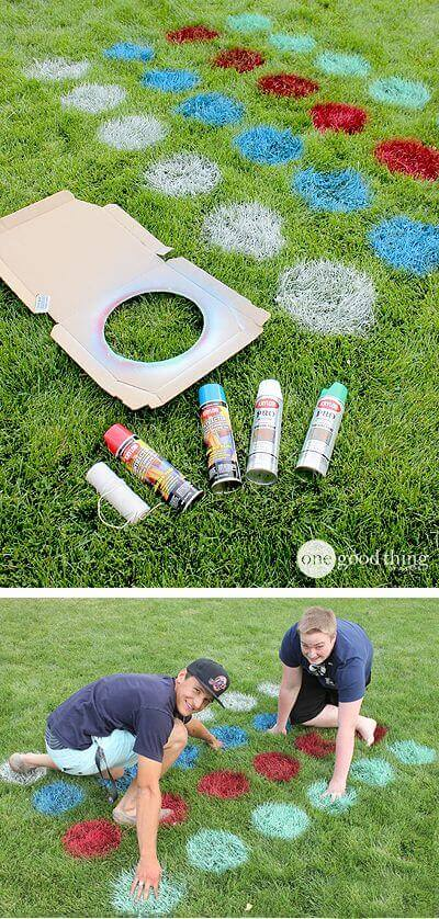 Simple Outdoor Spray Paint Twister | Six Mistakes to Avoid When Landscaping