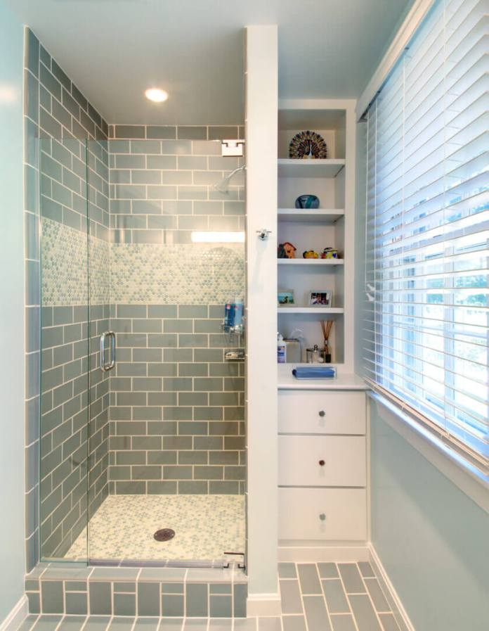 Simply Sea Foam Tile Scheme