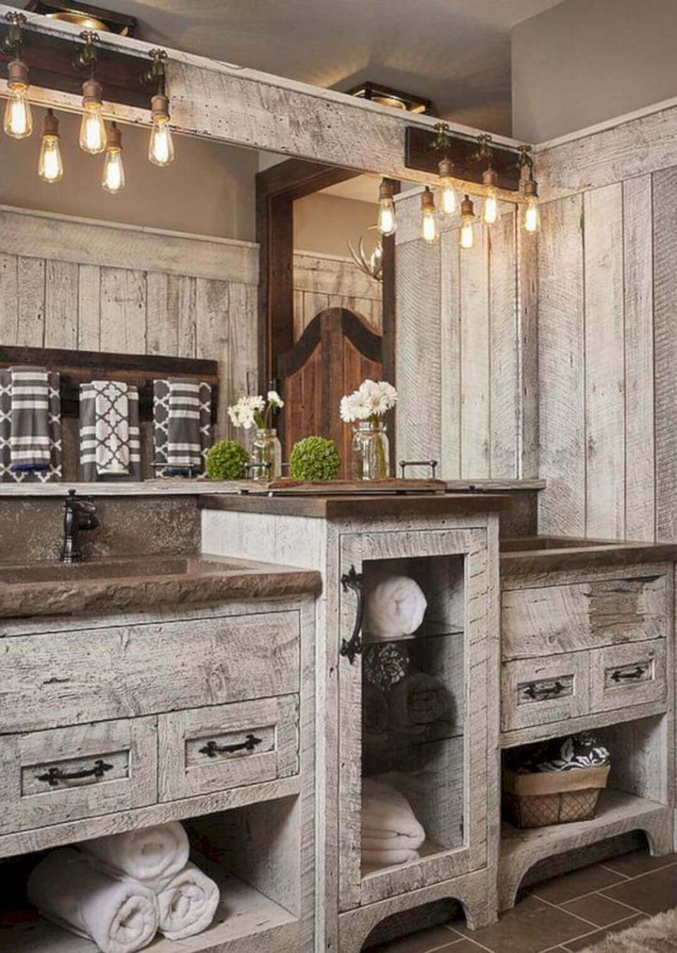 Gray Distressed and Weathered Wood Idea