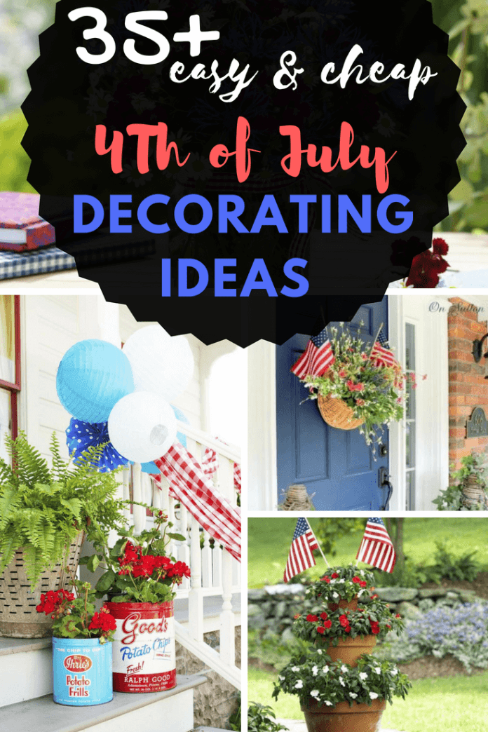 Make your Fourth of July celebration even more festive with these affordable decorations and party finds