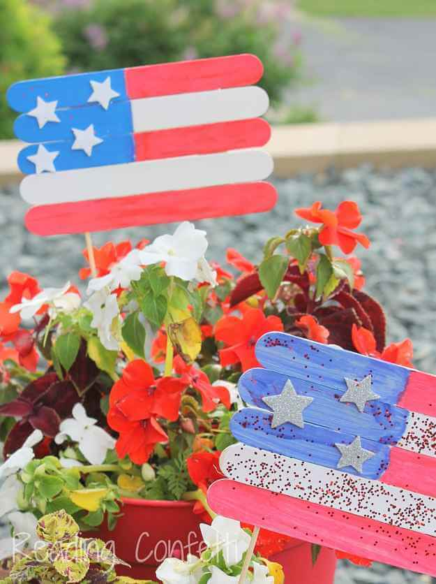 Flag Plant Markers