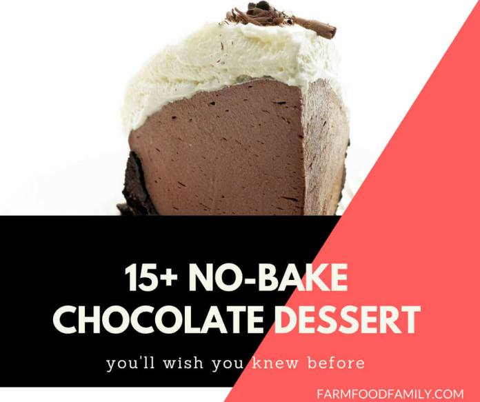 No bake chocolate dessert recipes