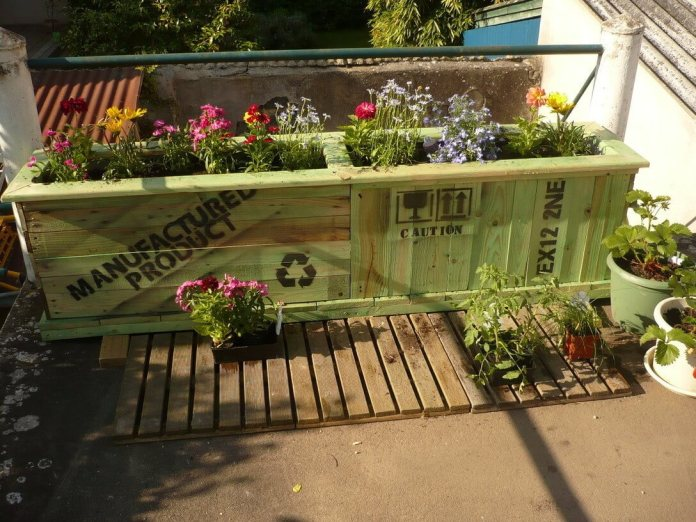 Upcycled Garden