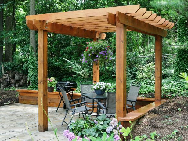 DIY Pergola Ideas: The 4-Step Pergola