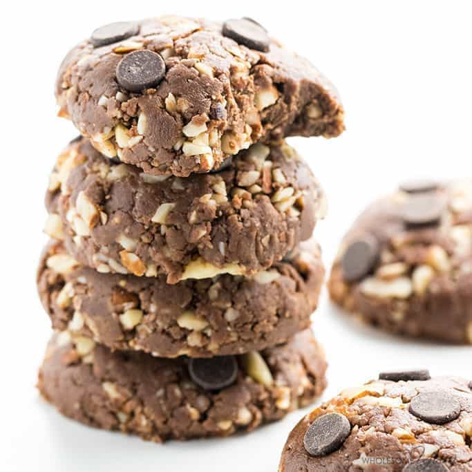 Easy Low Carb Peanut Butter Chocolate No Bake Cookies