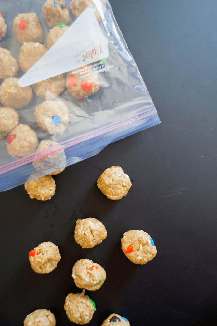 Easy No-Bake Protein Bites, a Back to School Snack for Kids