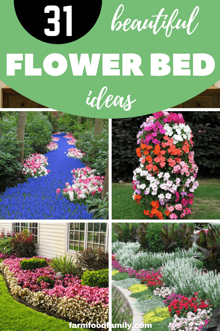 31 Gorgeous Flower Bed Ideas To Try For Your Garden Farmfoodfamily