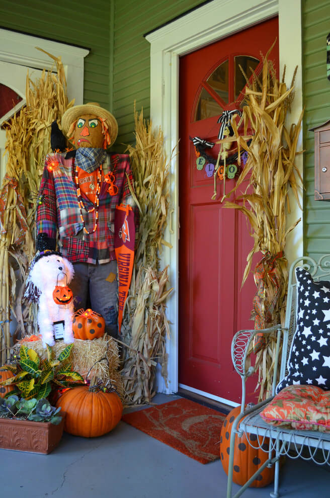 Fall Fun for the Family | Scary DIY Halloween Porch Decoration Ideas | vintage halloween porch