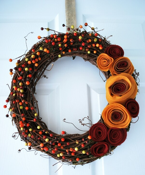 Wreaths aren't Just for Christmas | Fall Porch Decoration Ideas | Porch decor on a budget