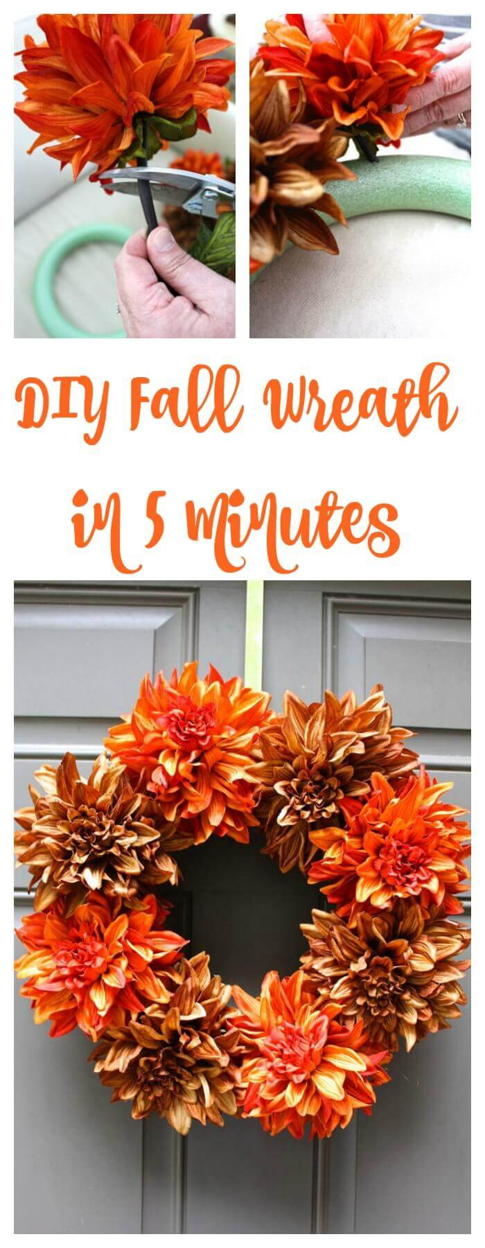 Simple and Pretty Frilly Fall Flowers