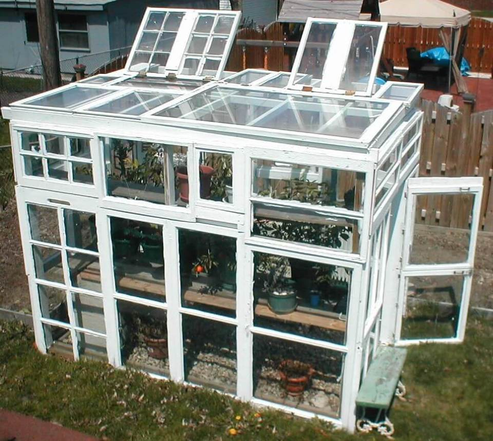 White Framed Green House with Many Stories | Build a beautiful outdoor greenhouse | Creative Greenhouse DIY plans