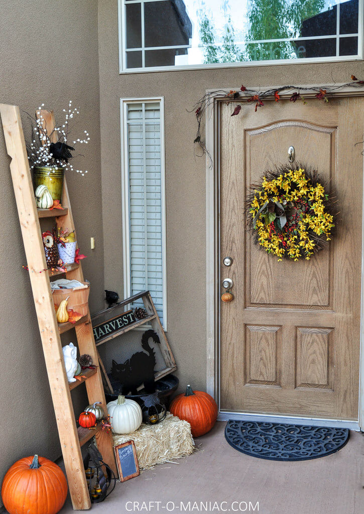 Multiple Steps to a Fantastic Fall Season | Fall Porch Decoration Ideas | Porch decor on a budget