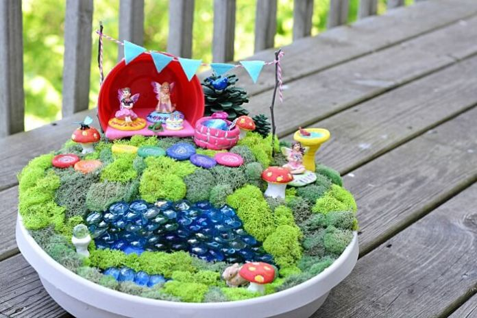 Sweet and Salty Salt Dough Fairy Accessories | fairy garden accessories | miniture fairy garden ideas inspiration | homemade fairy garden decorations