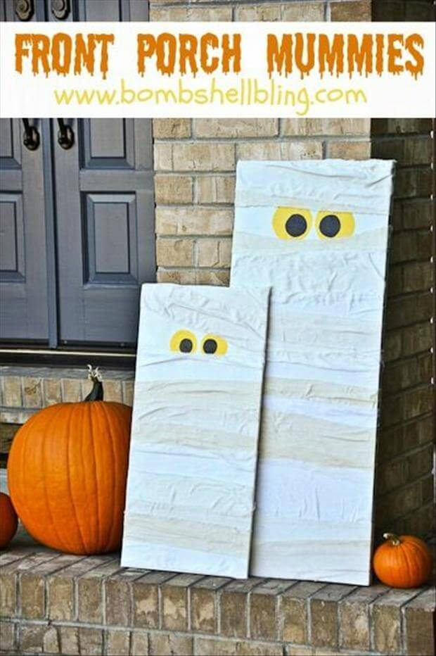 Please Stop and Play With Us | Scary DIY Halloween Porch Decoration Ideas | vintage halloween porch
