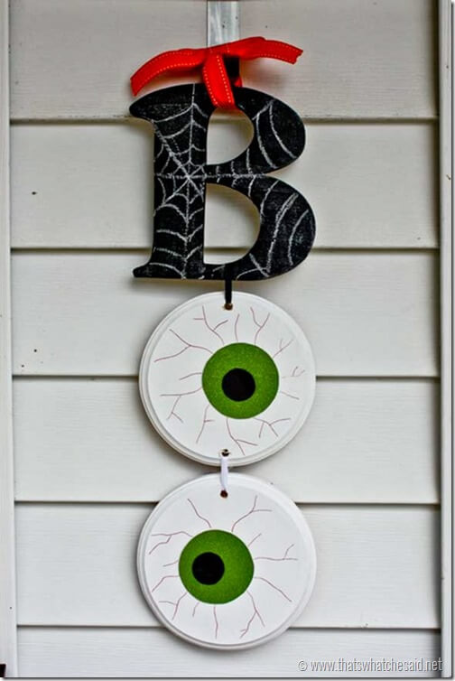 Halloween Door Decoration Ideas: Have a Boo-tiful Day