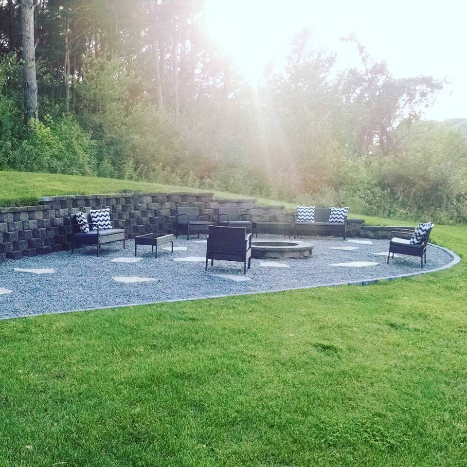 Paver Fire Pit | Awesome Firepit Area Ideas For Your Outdoor Activities
