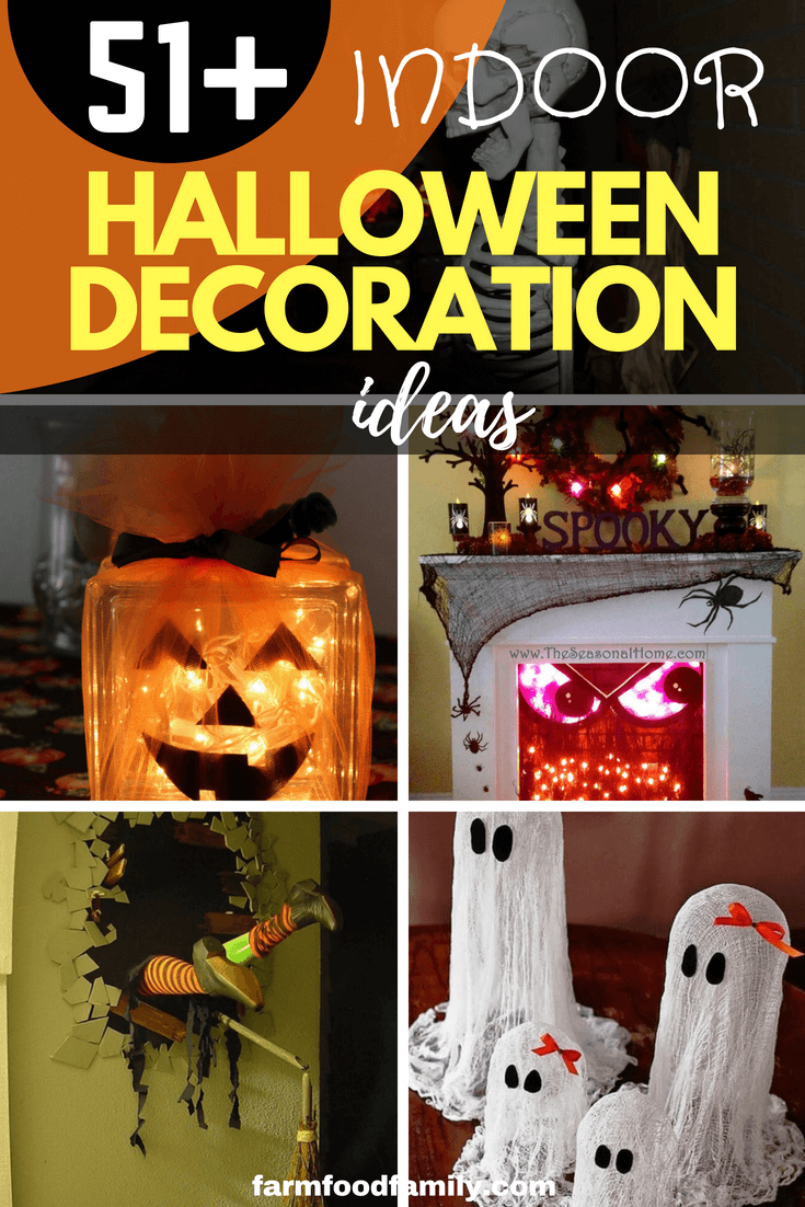 Creative Halloween Decorations Indoor.51 Spooky Diy Indoor Halloween Decoration Ideas For 2019