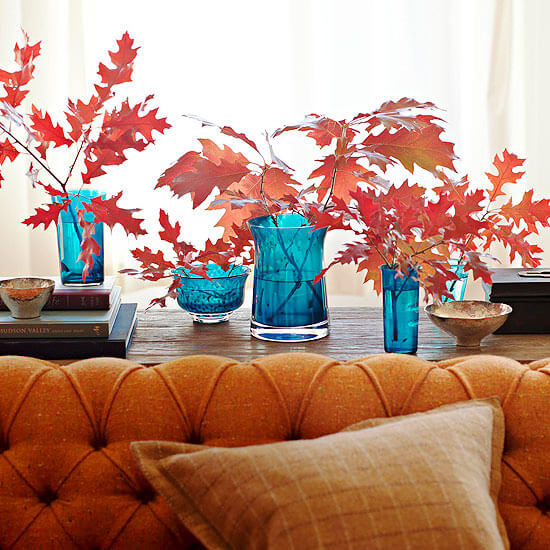 Falling for fall | DIY Fall-Inspired Home Decorations With Leaves - FarmFoodFamily
