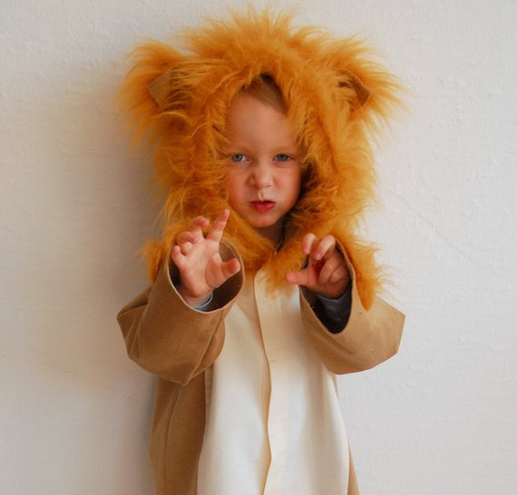 Lion Costume | Animal Halloween Costumes for Kids, Adults - FarmFoodFamily.com