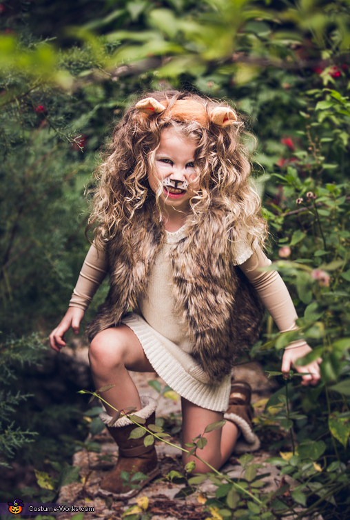 Little Lion Girl | Animal Halloween Costumes for Kids, Adults - FarmFoodFamily.com