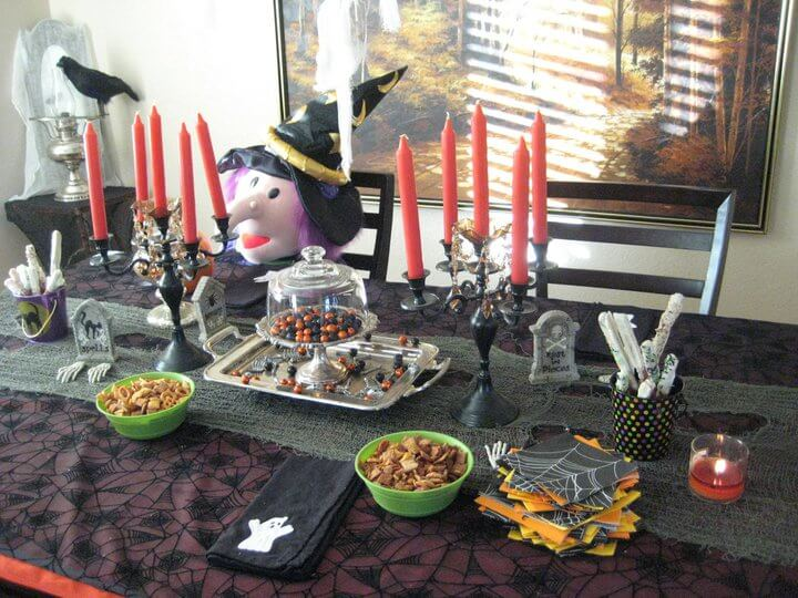Spooktacular recap | Fun & Spooky Halloween Table Decoration Ideas - FarmFoodFamily.com