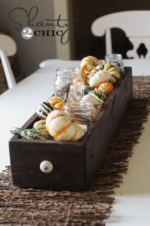 Fall Table | Best DIY Fall Centerpiece Ideas | FarmFoodFamily.com