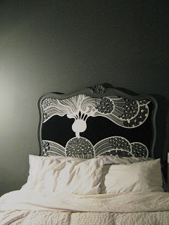Art Style Headboard | DIY Headboard Decoration Ideas for Bedroom