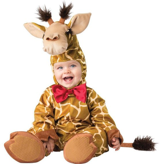 Cute Giraffe Baby Costume | Animal Halloween Costumes for Kids, Adults - FarmFoodFamily.com