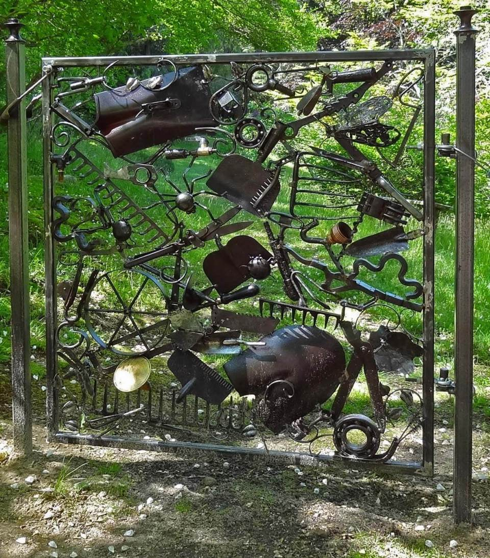 Wooden Gate And Whimsical Designs | DIY Garden Gate Ideas